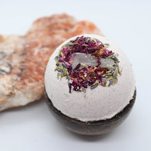 Load image into Gallery viewer, Herbal Crystal Bath Bombs