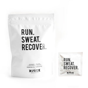 Run Sweat Recover Essential Oil Towelettes
