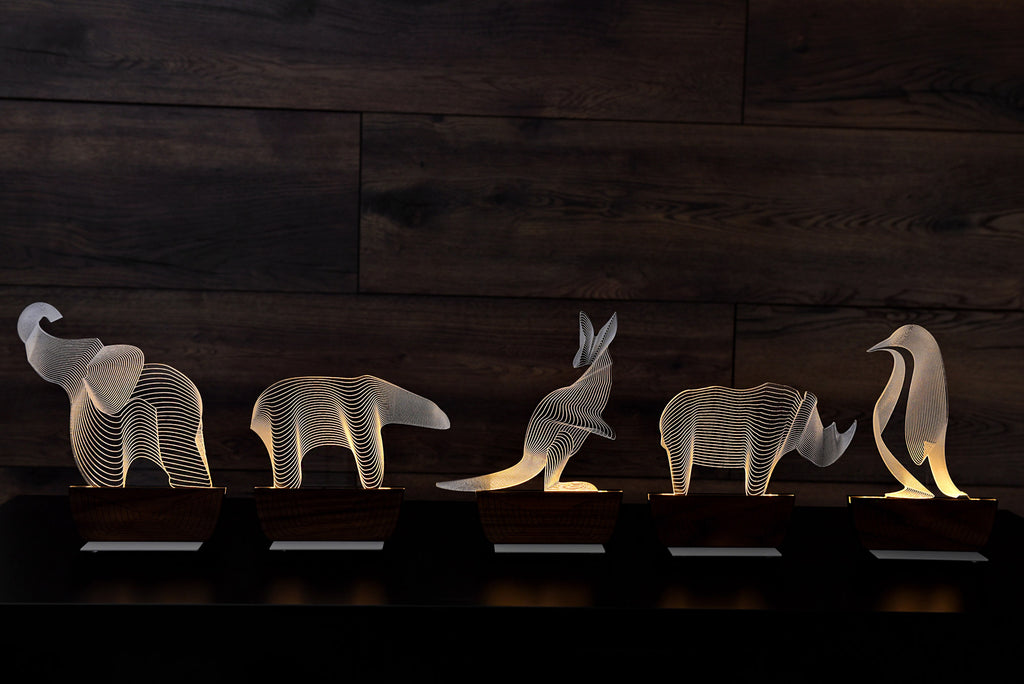 Save an Elephant table lamp