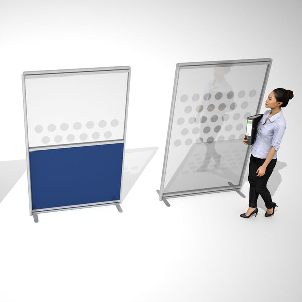 Melamine finish screens