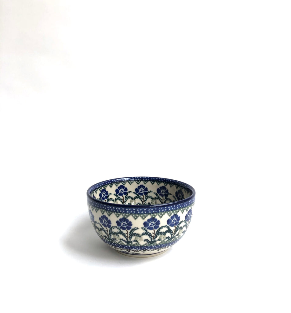 Bluets and Blackberries - Japanese Bowl