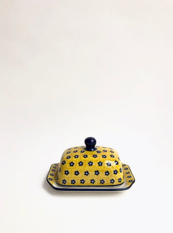 Senfgelb - Small Modern Butterdish