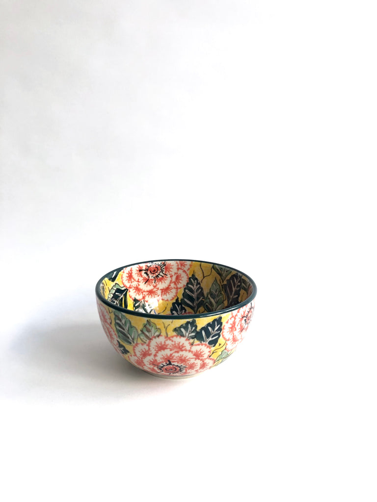 Peonies in Pink (UNIKAT) - Japanese Bowl