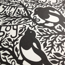 Load image into Gallery viewer, Magpies A3 Screenprint