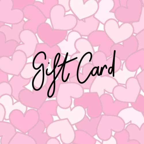 By Charlie's Hand Gift Cards