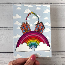 Load image into Gallery viewer, Happy Rainbow Collection Postcards Pack