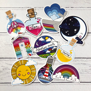 Pack of 10 Stickers