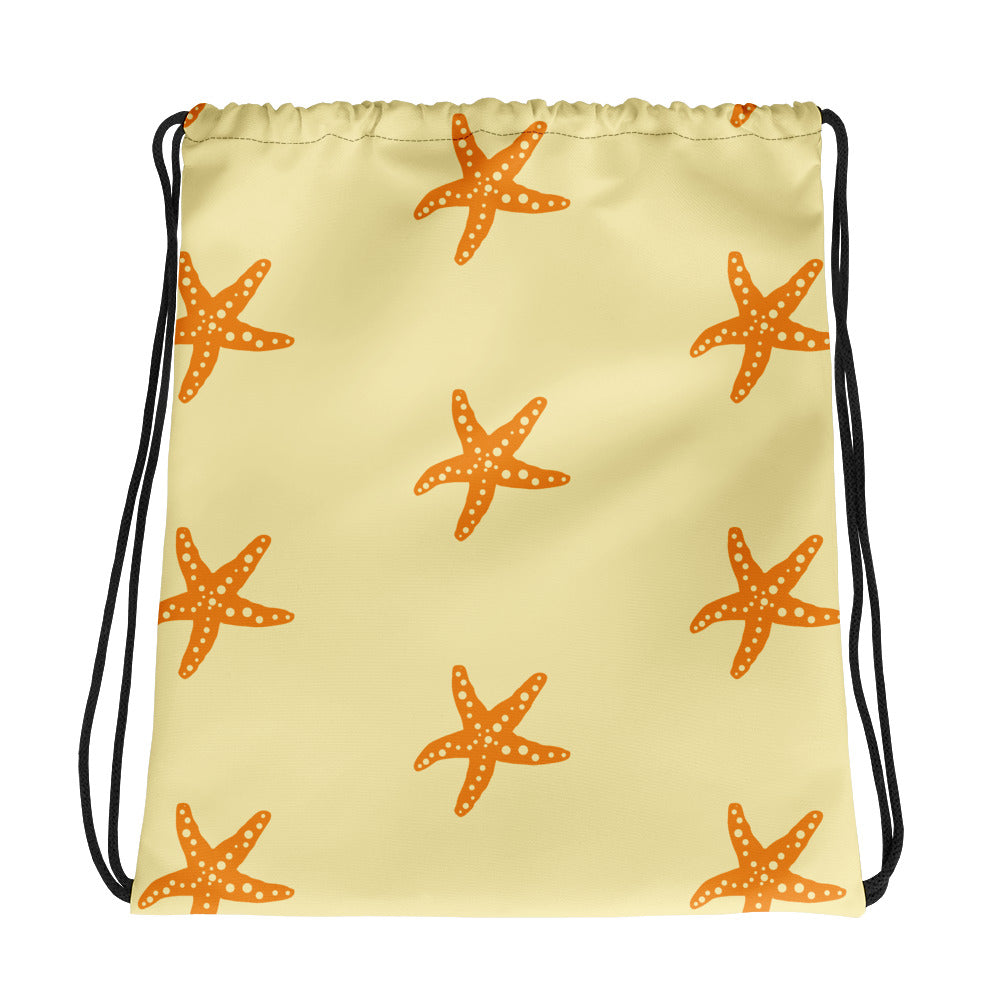 VENICO Starfish Drawstring Bag