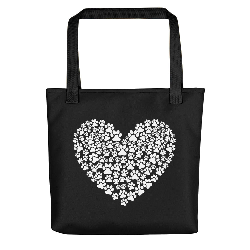 Paw Hearted Tote Bag