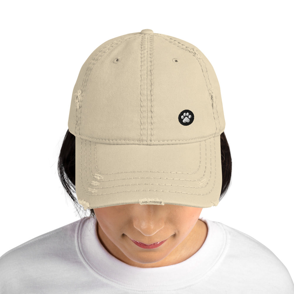 AIAN Distressed Baseball Hat