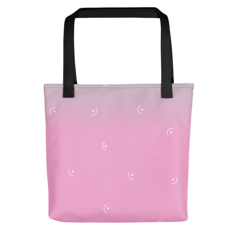Paw Hearted Pink Tote Bag