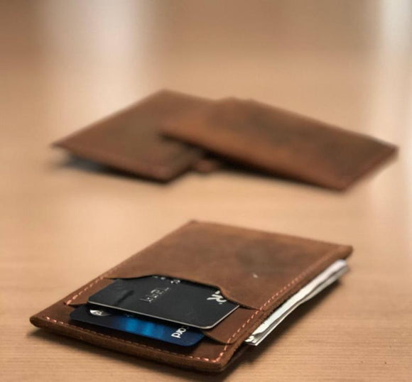 Personalized Slim Front Pocket Wallet