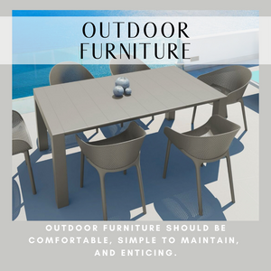 Commercial Outdoor Furniture for Hospitality and High-End Residential
