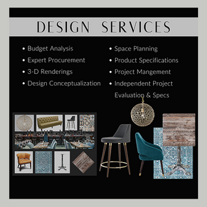 Comprehensive Design Services - Hospitality and Home Furniture