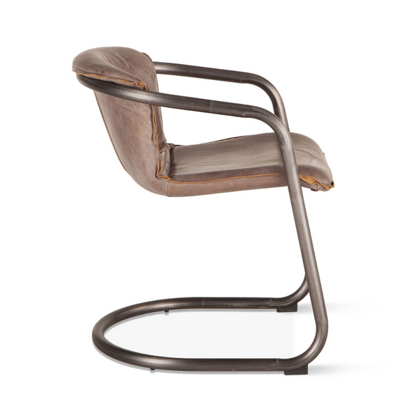 CHEVAL Tubular Mid-Century Dining Chair