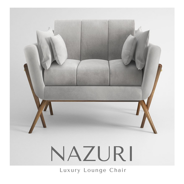 NAZURI Luxury Lounge Chair