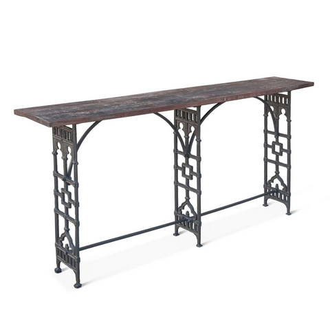 XAVIERE Parisian Industrial Console Table