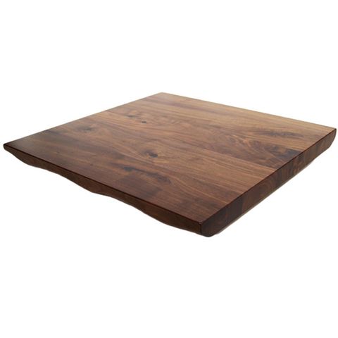 BOTTEGA Black Walnut Live Edge Table Top