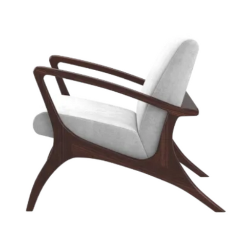 ANDERS Mid-Century Modern Hospitality Lounge Chair