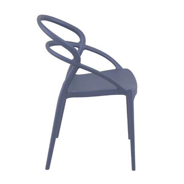 ARLO Stackable All Weather Indoor Outdoor Dining Chair