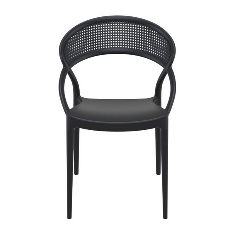 AZZURRA Stackable All Weather Indoor Outdoor Dining Chair