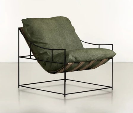 BRADDOCK Minimalist Lounge Chair