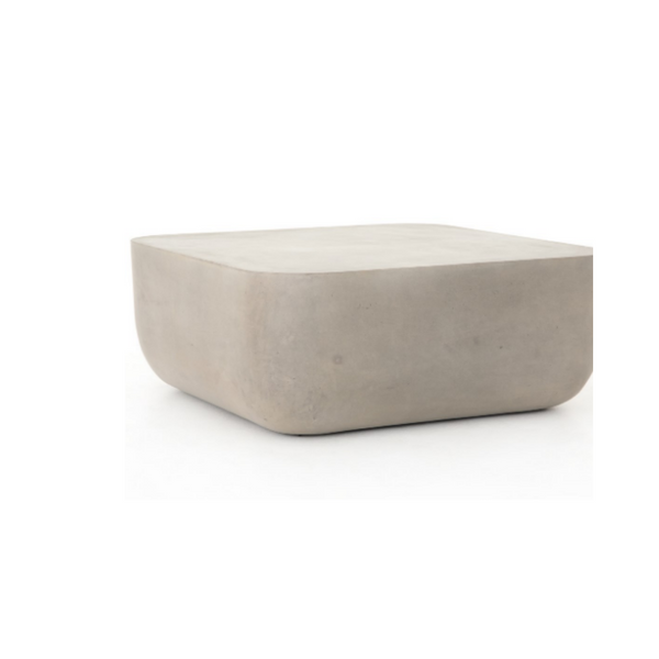 CORSICA Concrete Square Coffee Table