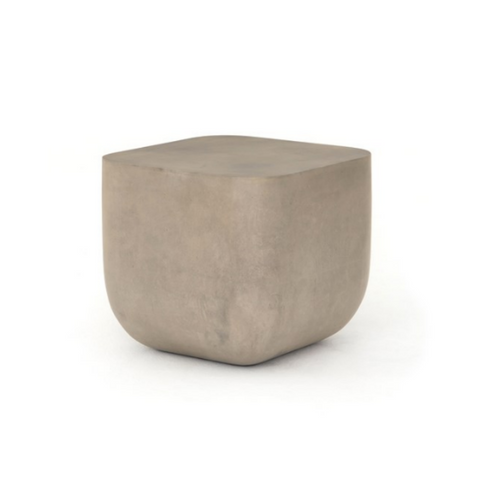 CORSICA Concrete Square Side Table