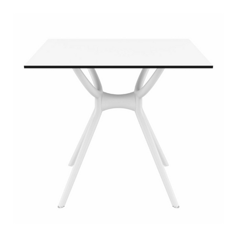 DAUNTE Indoor Outdoor 4 Top Dining Table