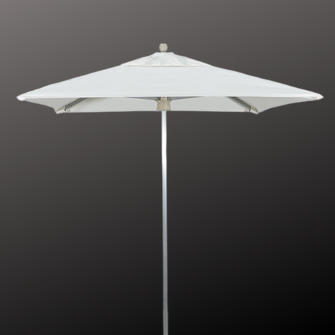PORTO 6' Square Commercial Aluminum Umbrella