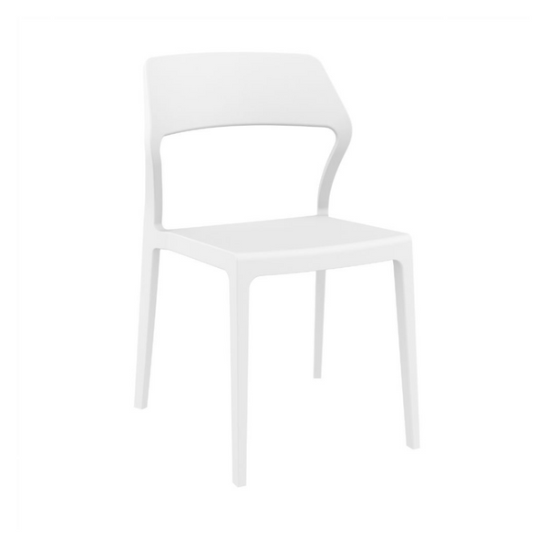 RINCON Stackable All Weather Indoor Outdoor Dining Side Chair