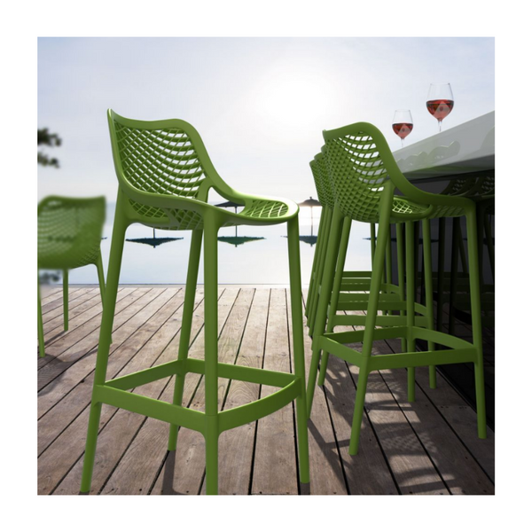 STRATOS All Weather Indoor Outdoor Bar and Counter Stools