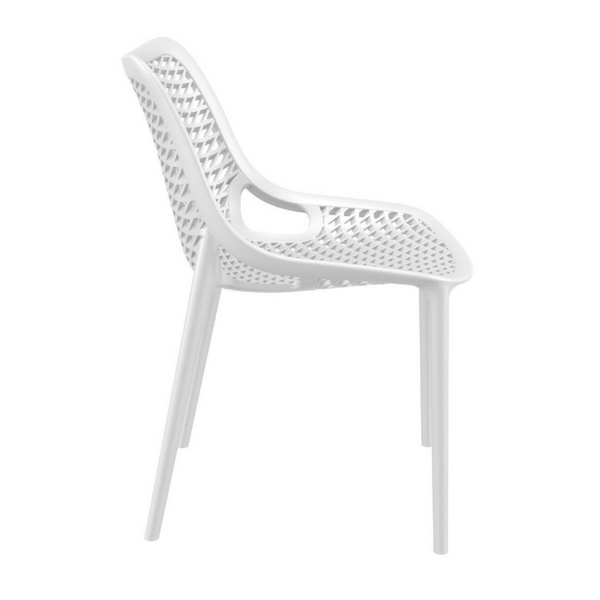 STRATOS Stacking All Weather Indoor Outdoor Dining Side Chair