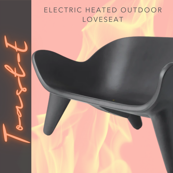 TOAST-E Electric Heated Outdoor Loveseat