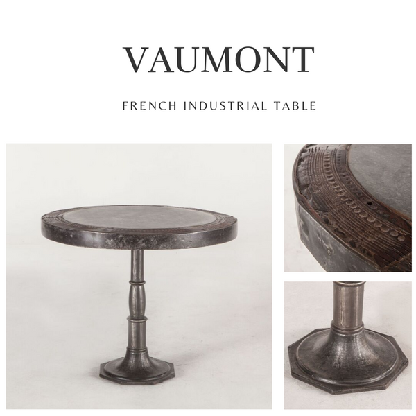 VAUMONT French Industrial Dining Table