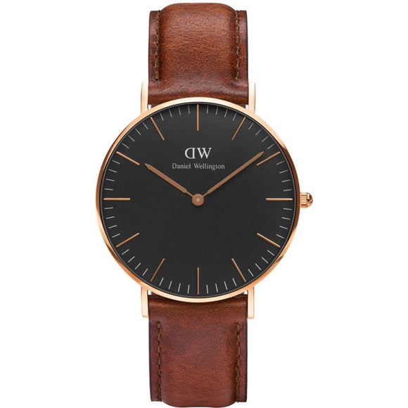 Daniel Wellington Classic Black St Mawes 36mm Watch DW00100136