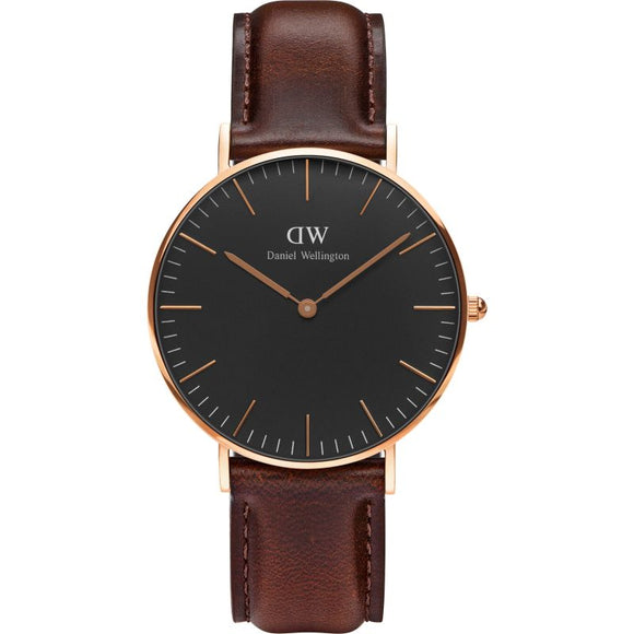 Daniel Wellington Classic Black Bristol 36mm Watch DW00100137