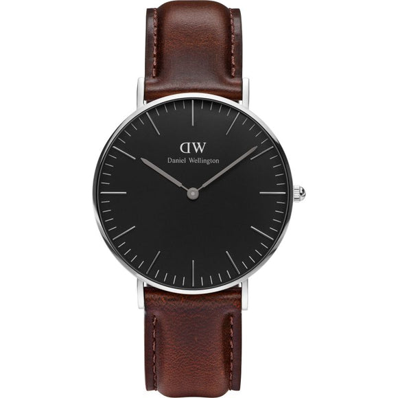 Daniel Wellington Classic Black Bristol 36mm Watch DW00100143