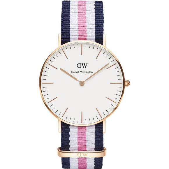 Ladies Daniel Wellington Southampton Rose 36mm Watch