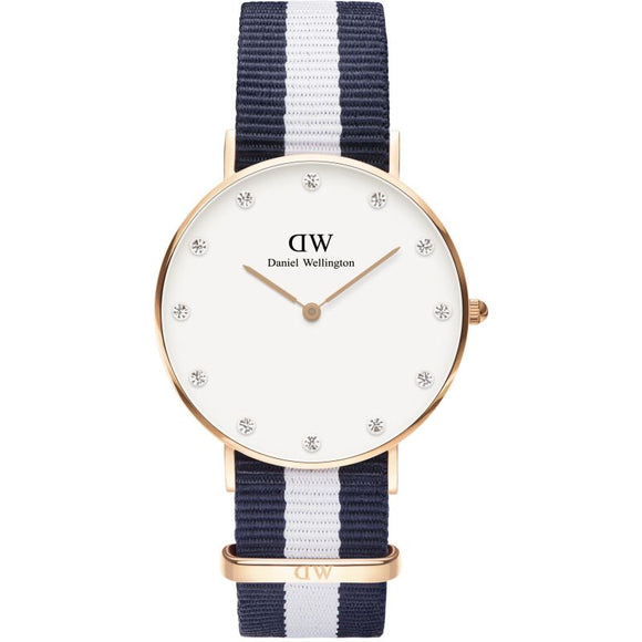 Ladies Daniel Wellington Classy Glasgow 34mm Watch DW00100078