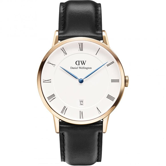 Mens Daniel Wellington Dapper 38mm Sheffield Rose Watch DW00100084