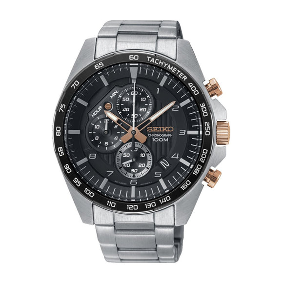Seiko SSB323P Stainless Steel Mens Chronograph Watch