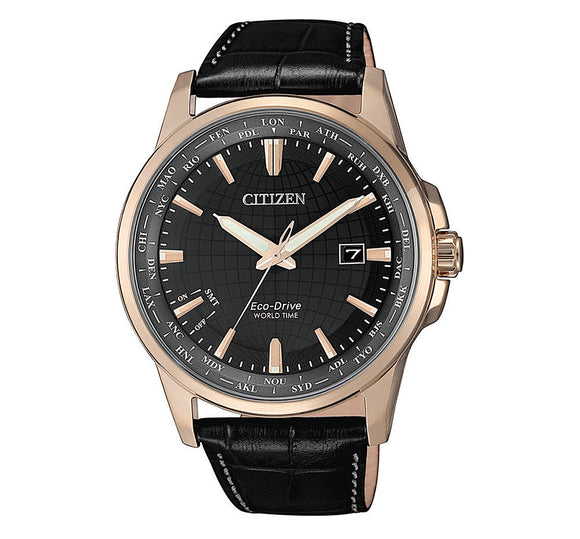 Citizen Men's Eco-Drive Watch with Automated Perpetual Calendar BX1008-12E