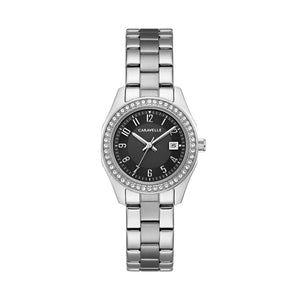 Caravelle by Bulova Women's Crystal Stainless Steel Watch - 43M121