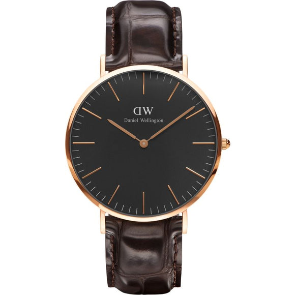 Daniel Wellington Classic  Black York 40mm Watch DW00100128