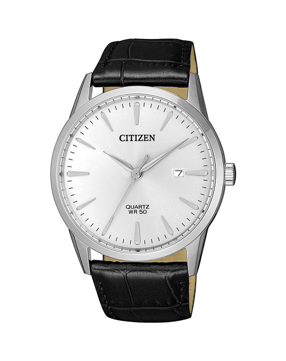 Citizen BI5000-10A Black Leather Mens Watch