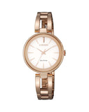 Citizen EM0639-81A Ladies Dress Eco-Drive Rose Gold Watch