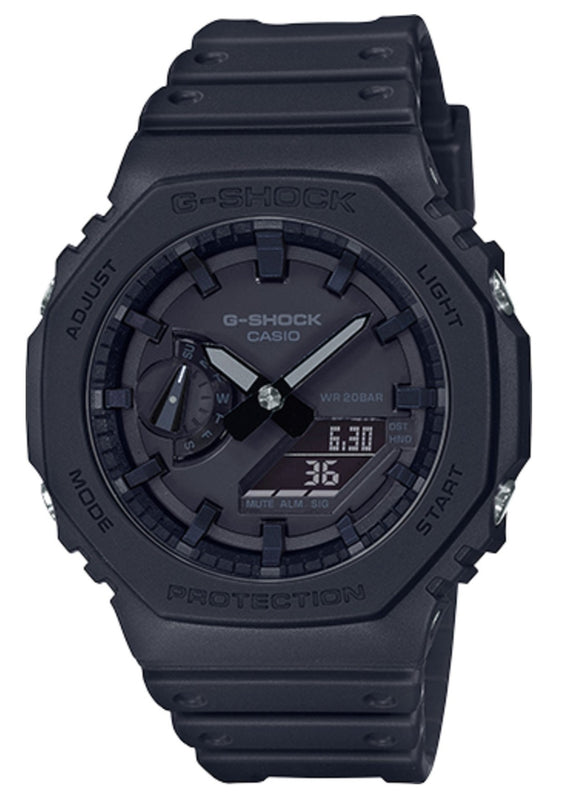 Casio G-Shock GA-2100-1A1 Royal Oak Full Black Watch