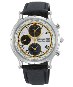 Seiko Age of Discovery World Time Alarm-Chronograph Limited Editon SPL055P1