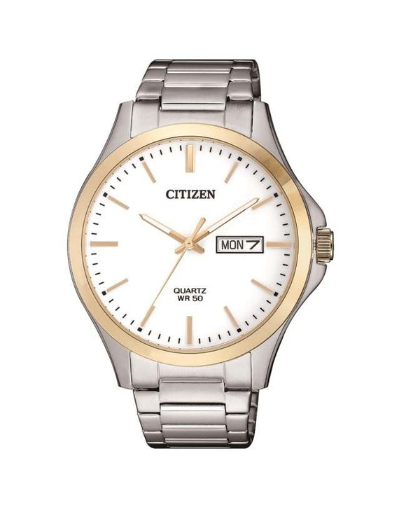 Citizen BF2006-86A Two Tone Stainless Steel Mens Quartz Watch